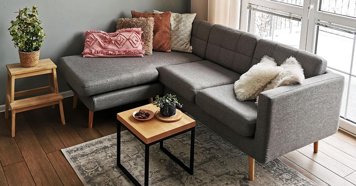 Elegante Ecksofas für kleine Wohnzimmer