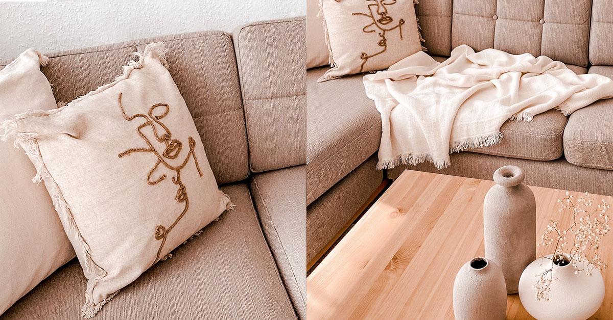 Accessoires und Dekorationsobjekte für das Wohnzimmer
